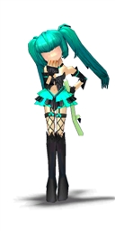 Faceless Hatsune Miku